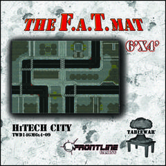 F.A.T. Mat: High-Tech City 6x4'