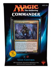 Commander 2015: Seize Control (Blue/Red) on Channel Fireball