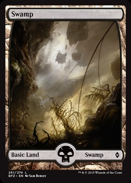 Swamp (261) - Foil (Full Art)