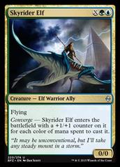 Skyrider Elf - Foil