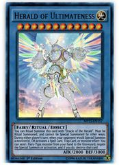 Herald of Ultimateness - MP15-EN157 - Ultra Rare - 1st Edition