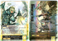 Arla, the Winged Lord // Arla, the Hegemon of the Sky - SKL-001 // SKL-001J - R - 1st Edition (Full Art)
