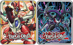 2015 Dark Rebellion Xyz Dragon and Odd-Eyes Pendulum Dragon Collector's Tins (Set of 2)
