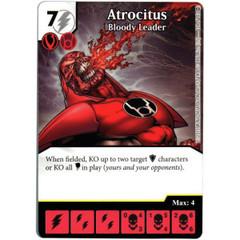 Atrocitus - Bloody Leader (Die & Card Combo)