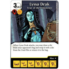 Lyssa Drak - Fear of the Unknown (Card Only)