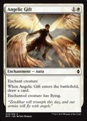 Angelic Gift - Foil on Channel Fireball
