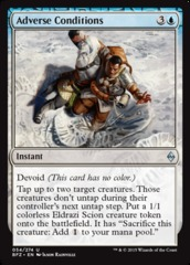 Adverse Conditions - Foil on Channel Fireball