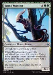 Brood Monitor - Foil on Channel Fireball