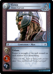 Eomer, Eored Captain