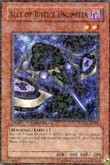 Ally of Justice Unlimiter - DT02-EN081 - Duel Terminal Normal Parallel Rare - 1st Edition