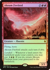 Akoum Firebird (Battle for Zendikar Prerelease Foil) on Channel Fireball