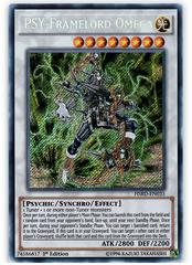 PSY-Framelord Omega - HSRD-EN035 - Secret Rare - 1st Edition