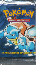 Pokemon Base Set 1st Edition Booster Pack (German)