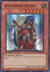 Amazoness Queen - DREV-EN032 - Super Rare - 1st Edition