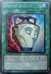 Pot of Duality - DREV-EN062 - Secret Rare - 1st Edition