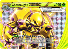 Chesnaught-BREAK - 12/162 - Rare BREAK