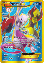 Mewtwo-EX - 163/162 - Secret Rare