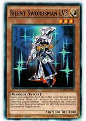Silent Swordsman LV3 - YGLD-ENC08 - Common - 1st Edition