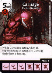 Carnage - Cletus Kassidy (Die & Card Combo)