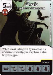 Cloak - Darkforce Dimension (Die & Card Combo)