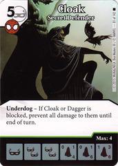 Cloak - Secret Defender (Card Only)