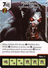 Morbius - Unliving Vampire (Die & Card Combo)
