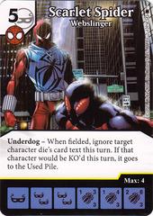 Scarlet Spider - Webslinger (Die & Card Combo)