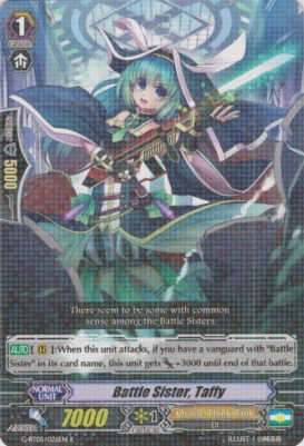 Battle Sister, Taffy - G-BT05/026EN - R