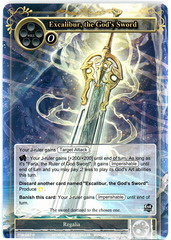 Excalibur, the God's Sword - TTW-097 - R - 1st Edition (Foil)