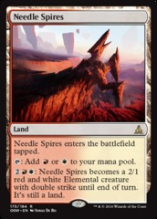 Needle Spires on Channel Fireball