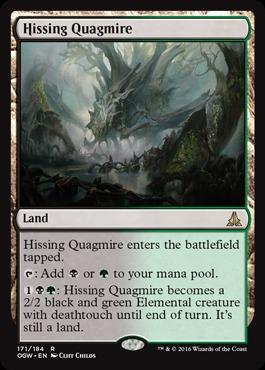 Hissing Quagmire - Foil