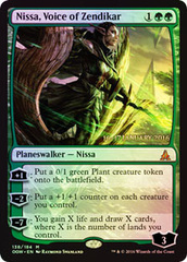 Nissa, Voice of Zendikar - Prerelease Promo
