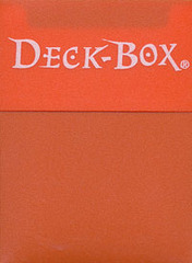 Ultra Pro Orange Deck Box