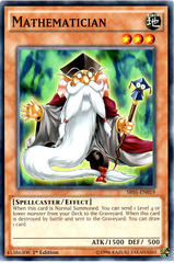 Mathematician - SR01-EN019 - Common - 1st Edition on Channel Fireball