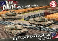 TUBX01: M1 Abrams Tank Platoon