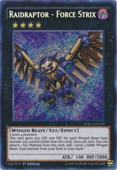 Raidraptor - Force Strix - WIRA-EN022 - Secret Rare - 1st Edition on Channel Fireball
