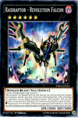 Raidraptor - Revolution Falcon - WIRA-EN023 - Common - 1st Edition