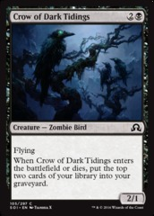 Crow of Dark Tidings  - Foil