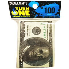 Benjamins Double Matte Sleeves - 100 ct
