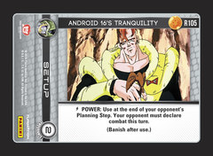 Android 16's Tranquility - Foil