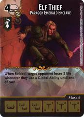 Elf Thief - Paragon Emerald Enclave (Die & Card Combo)