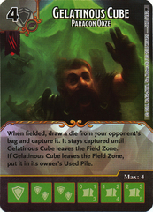 Gelatinous Cube - Paragon Ooze (Card Only)