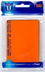 Alpha Gloss Sleeves - 50 count  - Orange