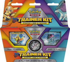 XY Trainer Kit 4 - Pikachu Libre and Suicine