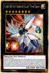 Number 38: Hope Harbinger Dragon Titanic Galaxy - PGL3-EN008 - Gold Secret Rare - 1st Edition