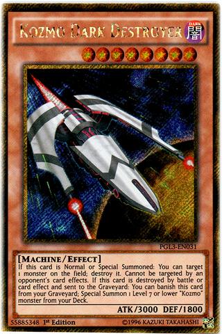 Kozmo Dark Destroyer - PGL3-EN031 - Gold Secret Rare - 1st Edition