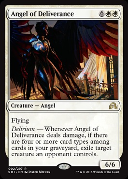 Angel of Deliverance - Foil