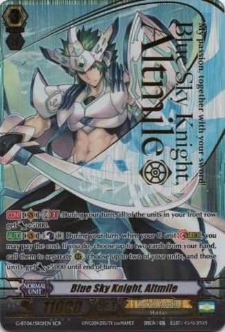 Blue Sky Knight, Altmile - G-BT06/SR01EN - SCR