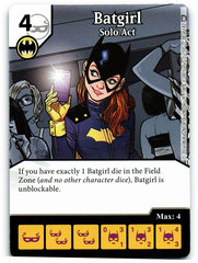 Batgirl - Solo Act (Die & Card Combo)