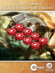 Guild Ball Bleed Condition Tokens
